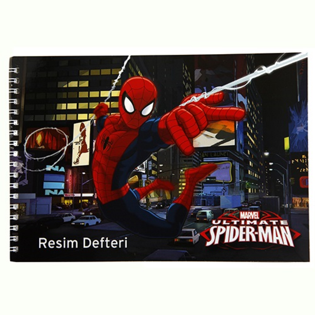 KESKIN COLOR SPIDERMAN SP.LÜKS RESİM DEFTERİ 17*25 15YP