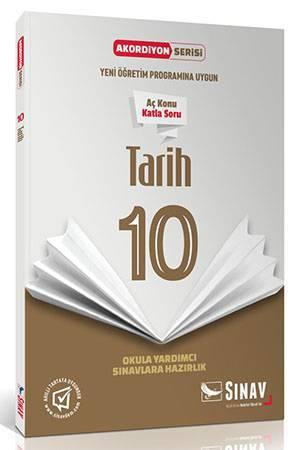 SINAV 10.SINIF TARİH AKORDİYON KİTAP