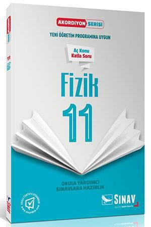 SINAV 11.SINIF FİZİK AKORDİYON KİTAP