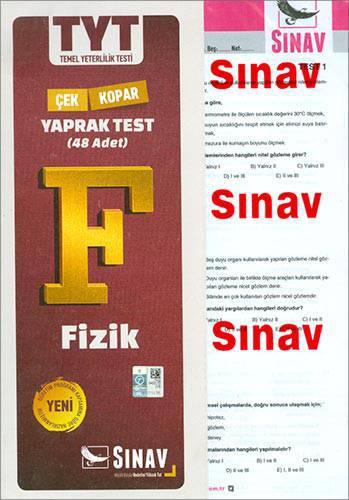 SINAV TYT FİZİK YAPRAK TEST
