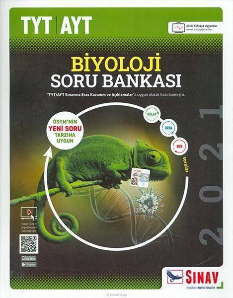 SINAV TYT-AYT BİYOLOJİ SORU BANKASI