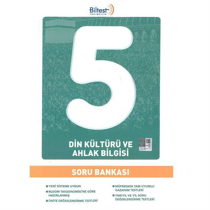 BİLFEN 5.SINIF DİN KÜLTÜRÜ SORU BANKASII