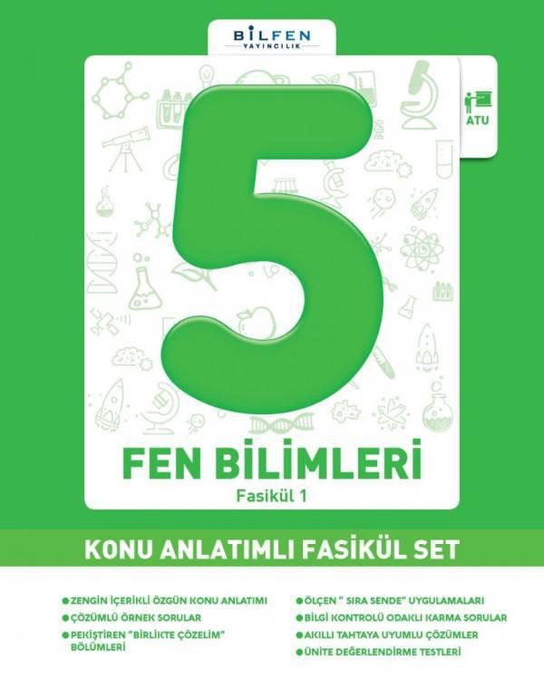 BİLFEN 5.SINIF FEN BİLİMLERİ KONU ANLATIMLI FASİKÜL SET