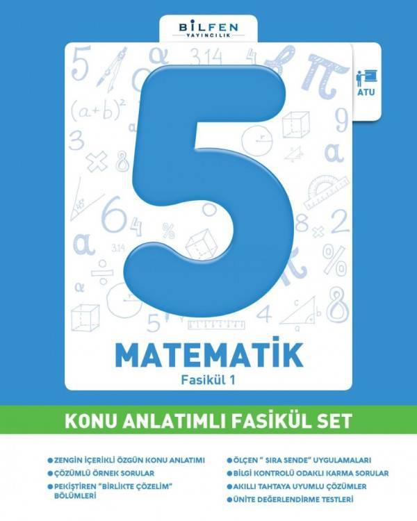 BİLFEN 5.SINIF MATEMATİK KONU ANLATIMLI FASİKÜL SET