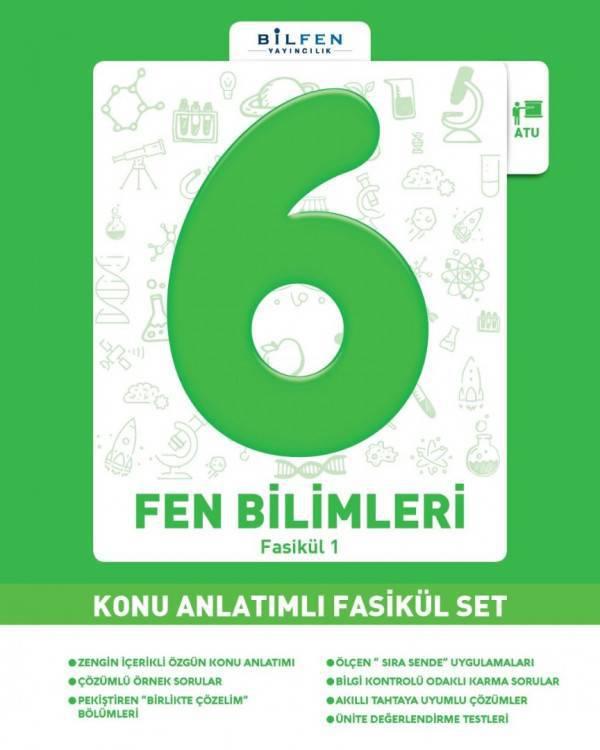 BİLFEN 6.SINIF FEN BİLİMLERİ KONU ANLATIMLI FASİKÜL SET