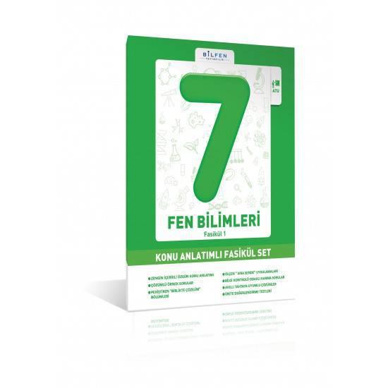 BİLFEN 7.SINIF FEN BİLİMLERİ KONU ANLATIMLI FASİKÜL SET
