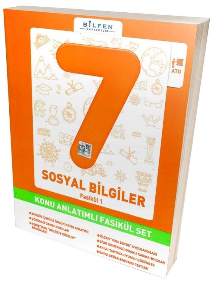 BİLFEN 7.SINIF SOSYAL KONU ANLATIMLI FASİKÜL SET