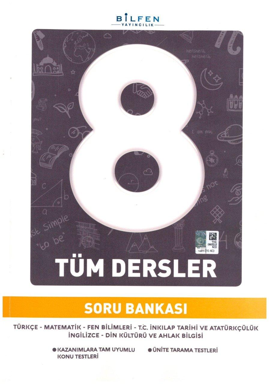 BİLTEST 8.SINIF TÜM DERSLER SB