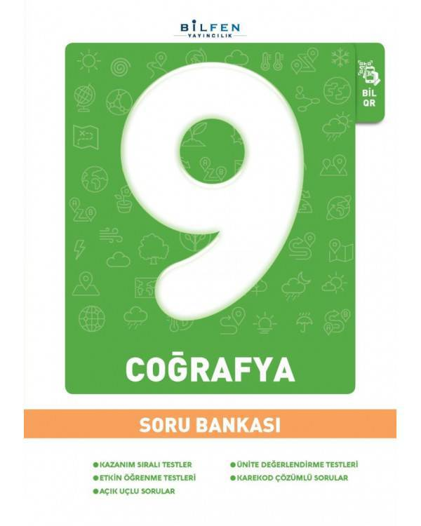 BİLFEN 9.SINIF COĞRAFYA SORU BANKASI