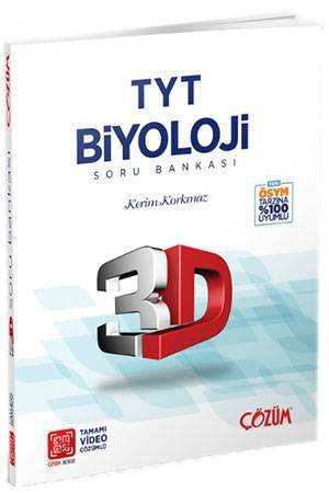 3D TYT BİYOLOJİ SORU BANKASI