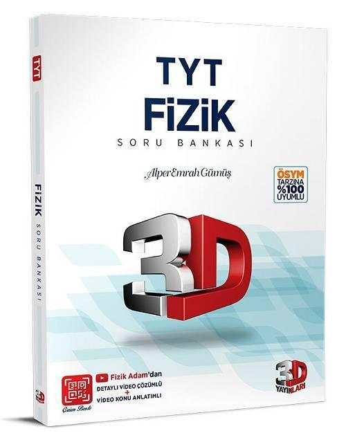 3D TYT FİZİK SORU BANKASI