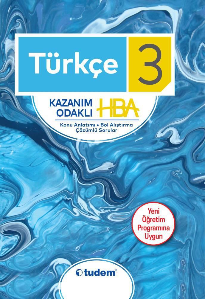TUDEM 3.SINIF TURKCE KAZANIM ODAKLI HBA