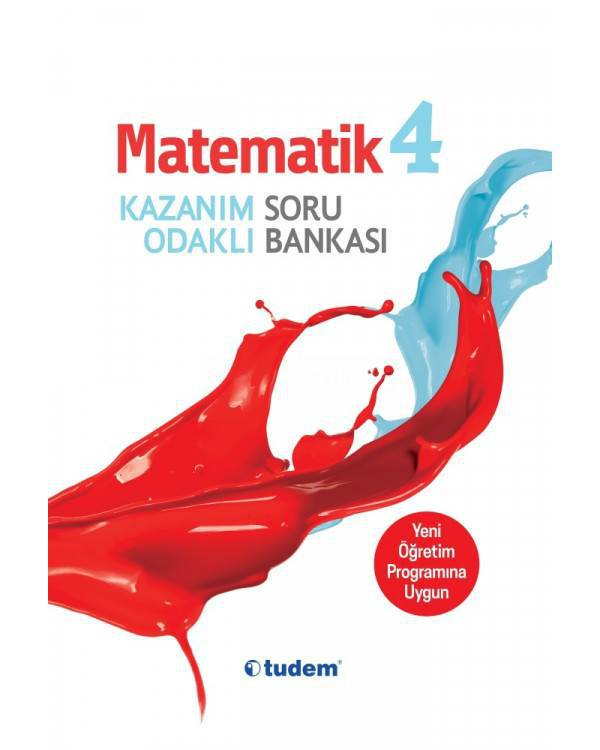 TUDEM 4.SINIF MATEMATİK SORU BANKASI