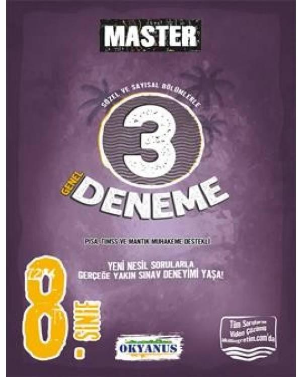 OKYANUS MASTER 8.SINIF 3 DENEME