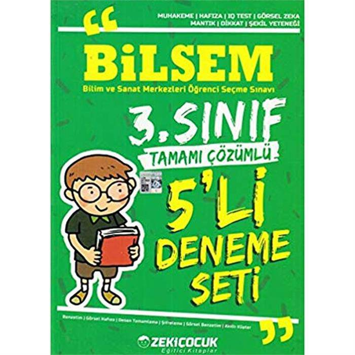 ZEKİ ÇOÇUK BİLSEM 3.SINIF 5 Lİ DENEME