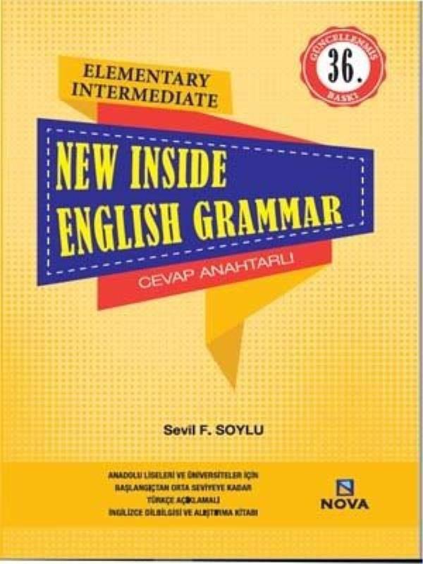 NEW INSIDE ENGLISH GRAMMAR/ NOVA(PELİKAN YAY.)/SEVİL F. SOYLU